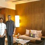 With Preetam Das,Guest Service Valet & Florist Mukesh Sharma