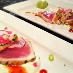 Yellowfin Ahi Tuna Crudo