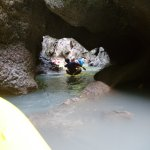 Most of these caves can only be entered when the tide is just right