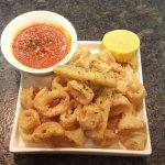 Calamari Fritti with Spicy Marinara Sauce