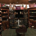 Gift shop upstairs