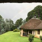 Taken after storm with rainbow in evidence