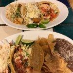 variety of fish tacos