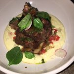 Fall of the bone short ribs with grits - Metls in your mouth!
