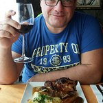 Fantástico día en el restaurante grill Aeroclub la comida esquisita y el trato genial por parte