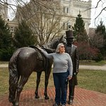 Honest Abe and his Horse