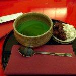 matcha pudding (yum!)