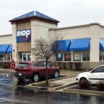 front of & entrance to IHOP