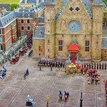 the activity within the courtyard Miniature copy taken from Madurodam