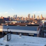 View over Brooklyn from the balcony