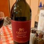 Nice house wine!