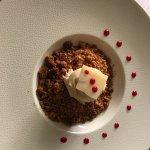 dessert: crumble au pomme (une tuerie)