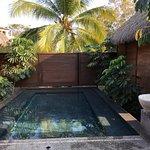 hot pool at spa
