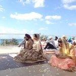 Rooftop Sikh wedding