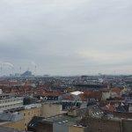 Vista desde la cima de Rundetårn (Torre Redonda)