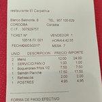 Foto de Restaurante El Carpathia
