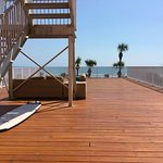 Deck off of Honeymoon Suite