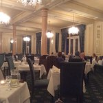 The beautiful dining room at the Hydro.