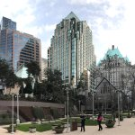 Innenstadt von Vancouver Foto