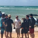 Divers briefing with Mr. Lobo (diving instructor) Bazaruto island
