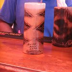 Delicious rum punch.