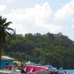 George Foreman and Mick Jagger house in Marigot Bay