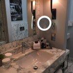 Sink & mirror.