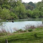Kayakers enjoying The Blanco River in Blanco State Park