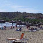 La plage Maréa del Portillo avec vue sur le Farallon