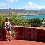 Magnifique vue sur la Sierra Maestra et l'océan!!!