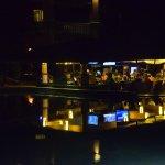 Palapa Bar at night