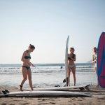 Surf lessons!