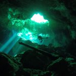 First cavern dive