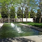 Beautiful fountain at Nasher