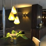 Penthouse - dining at living room