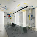 Fritz Glarners «Rockefeller Dining Room» revisited by Alfredo Häberli, 2016, Foto: S. Altenburge