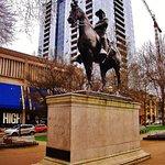 Teddy Roosevelt statue