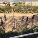 beach volley ball area