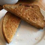 Smoky apple mac n cheese. Grilled cheese sandwich