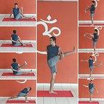 Postura del mes: Parivritta Svarga Dvijasana (Ave del paradíso)