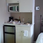 Great kitchenette to use after a market shop