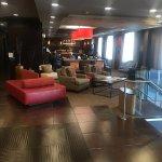 lobby and breakfast area