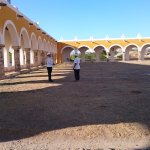 The monastery in Izamal. 2nd largest atrium in the world!