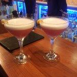 Irresistible cocktails . . .