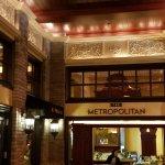Entrance to The Metropolitan.