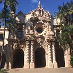 An example of the architecture in Balboa Park
