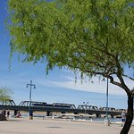 Tempe Beach Park-great for strolling, biking, running or boathing