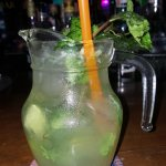 Mojito cocktail served in a jug at bangla