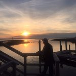 My Hubby at Fager's Island