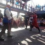 the pirates return to claim the ship